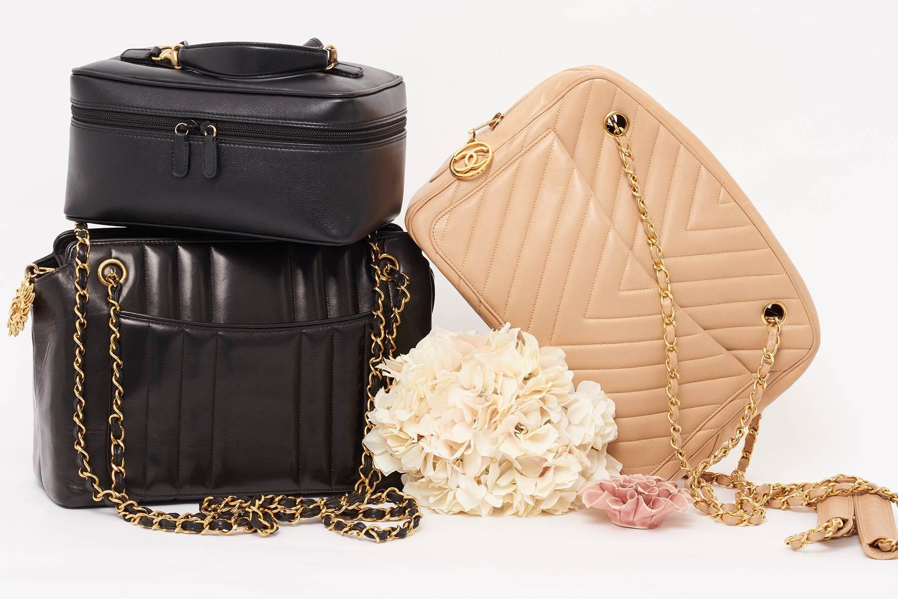 eee09fde032b Shop the finest curated vintage designer bag online. We specialise in  vintage preowned Chanel bags