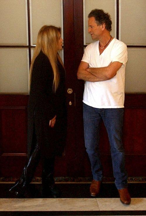 Stevie Nicks & Lindsey Buckingham  They still make a cute