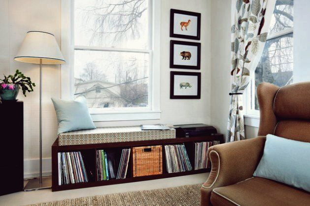 30 Inspirierende Ideen für gemütliche Fensterplätze in 2020   Wohnzimmer modern, Wohnzimmer ...
