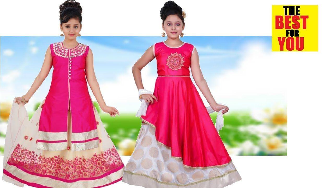 05ba18c5a29a8 Fashion Indian Dresses for Kids dress design in flipkart and amazon shop.