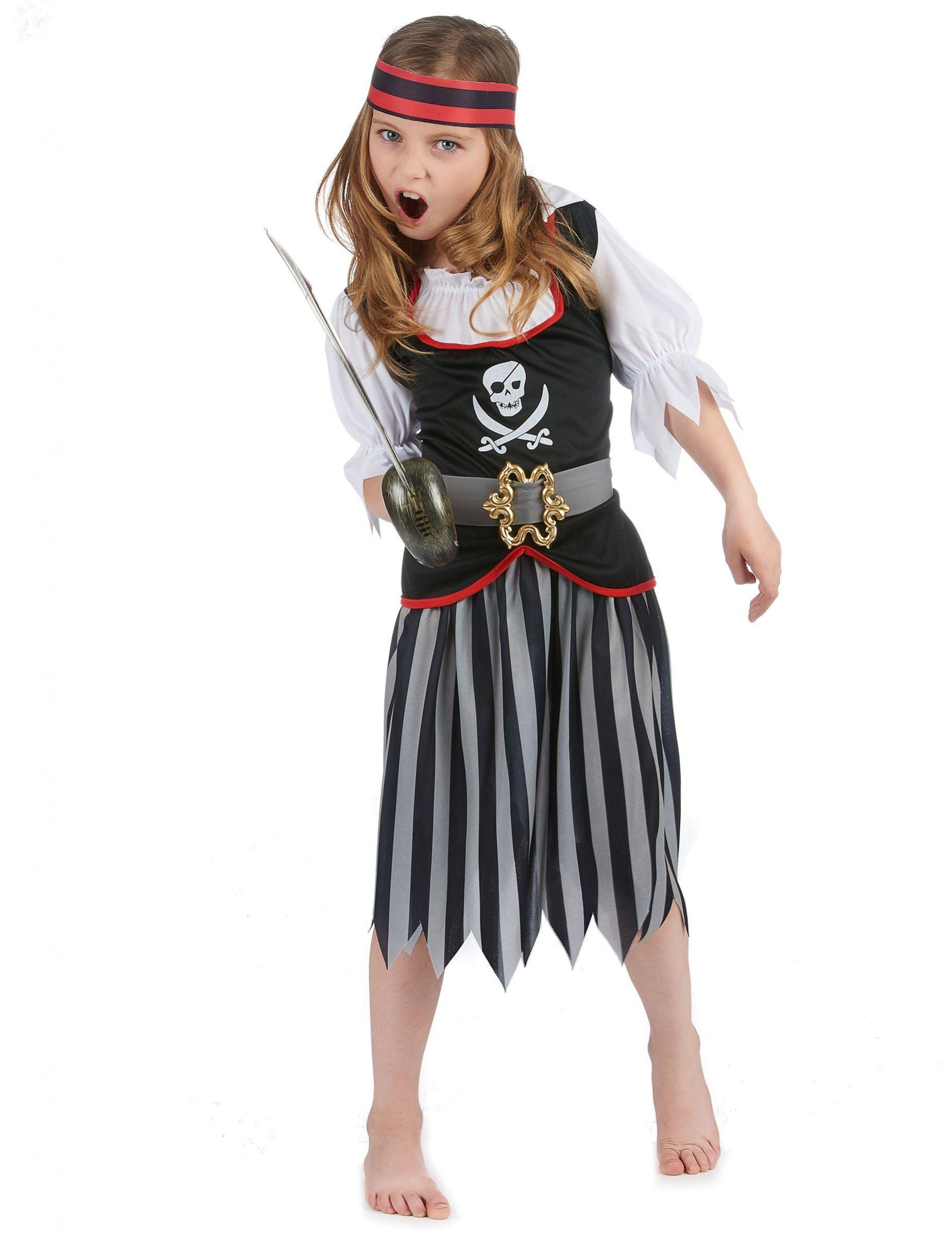 Costume pirata bambina e tantissimi altri travestimenti per le vostre feste  in maschera solo su Vegaoo f4a068839071