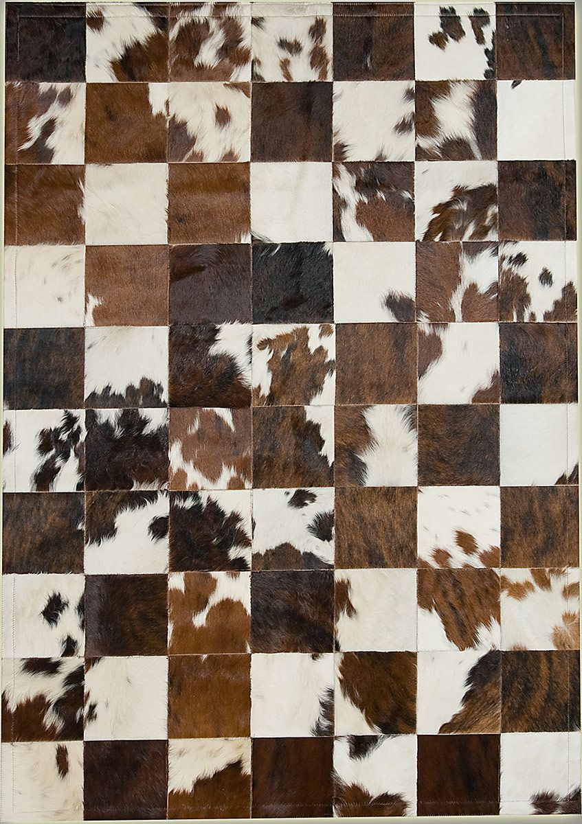 Tri Color 20x20 Natural Cowhide Rug From The Cowhide Rugs Collection At Modern Area Rugs Cow Hide Rug Area Rugs Rugs