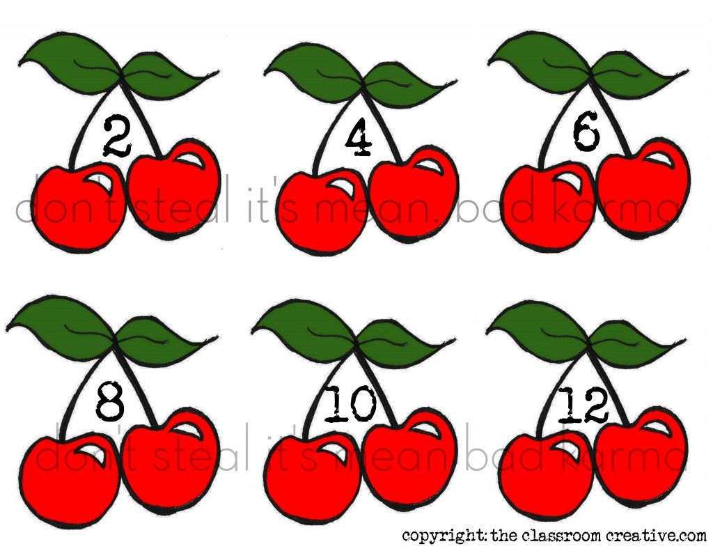 Freebie Counting By 2s Math Center