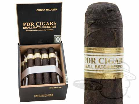 PDR Small Batch Reserve Robusto Maduro 5 x 52—Box of 24 - Best Cigar Prices