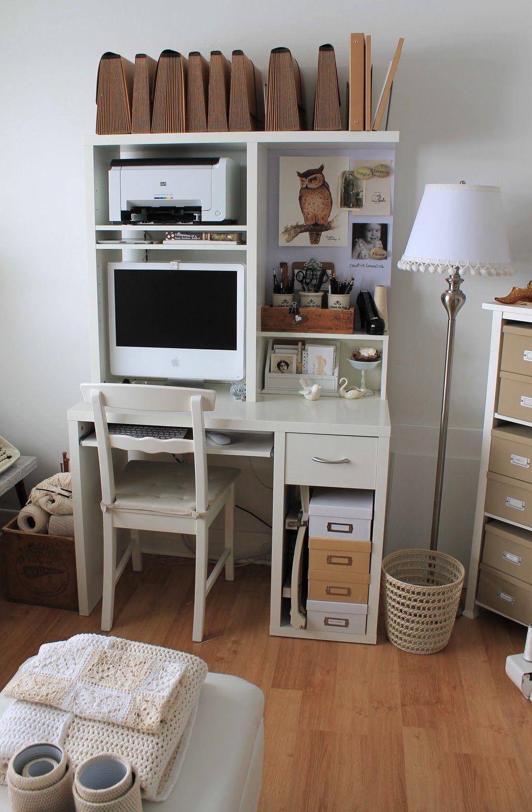 Creative Carmelina Organizing A Home Office Home Office Organization Home Organization Home
