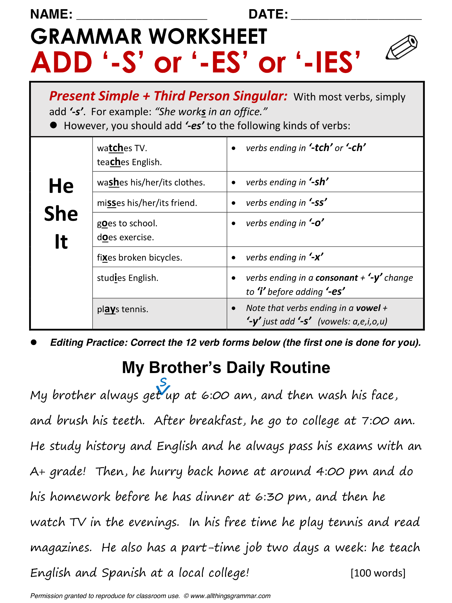 Free Worksheet Grammar Worksheets College 17 best images about 1st grade on pinterest english grammar test lessons and present tense