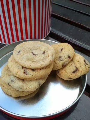 Cookies de pepitas de chocolate