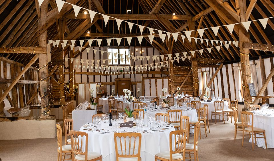 Mel and Rob's Relaxed Late Spring Wedding Luxury barn