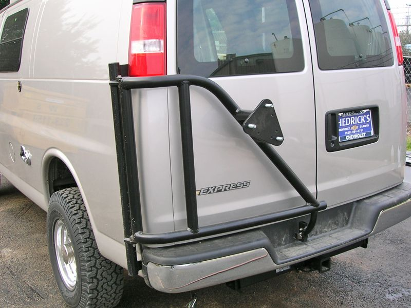 Aluminess Products Chevy Van 20032014 Tire Rack Tire