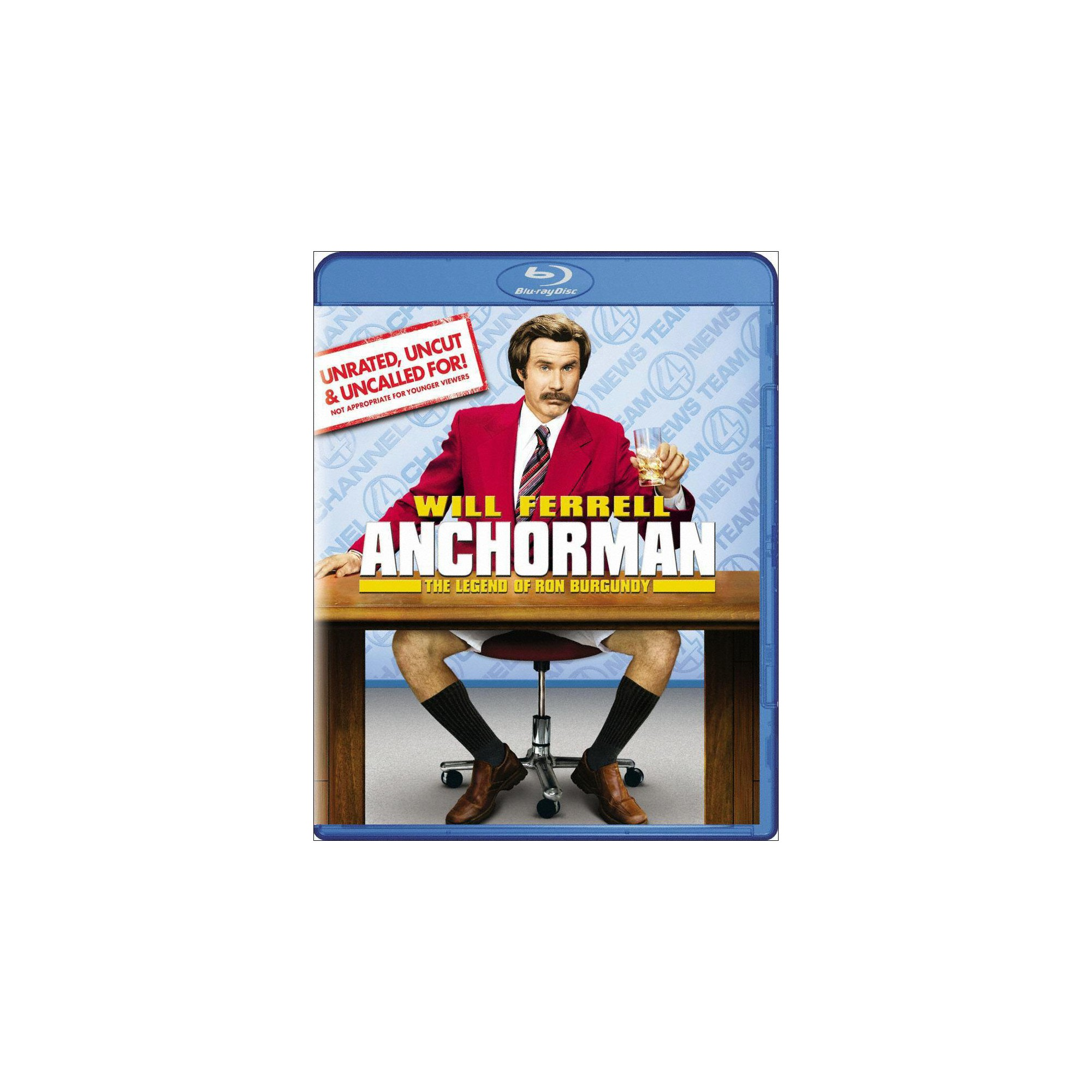 Anchorman The Legend Of Ron Burgundy Unrated Uncut Uncalled