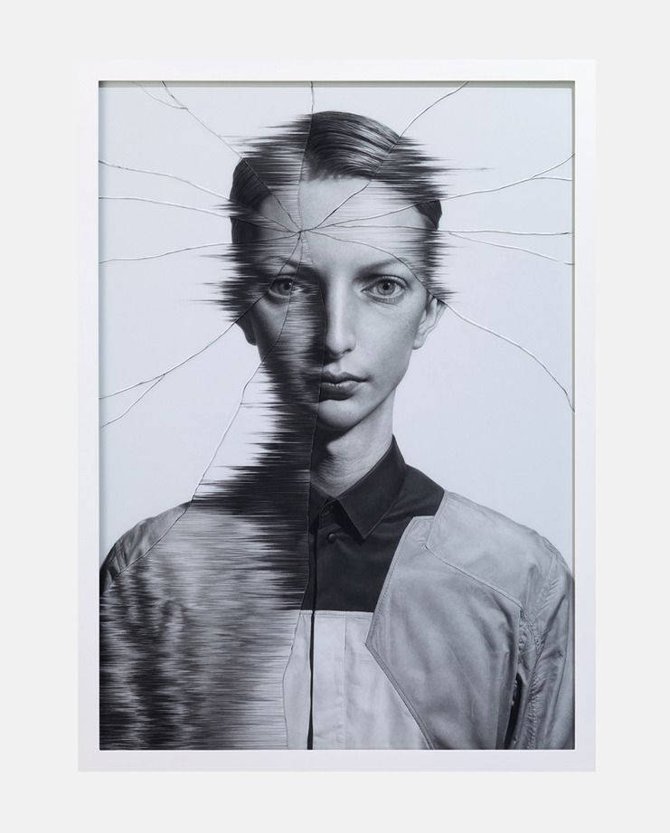 The Cracked Portrait #5 - SHOWstudio