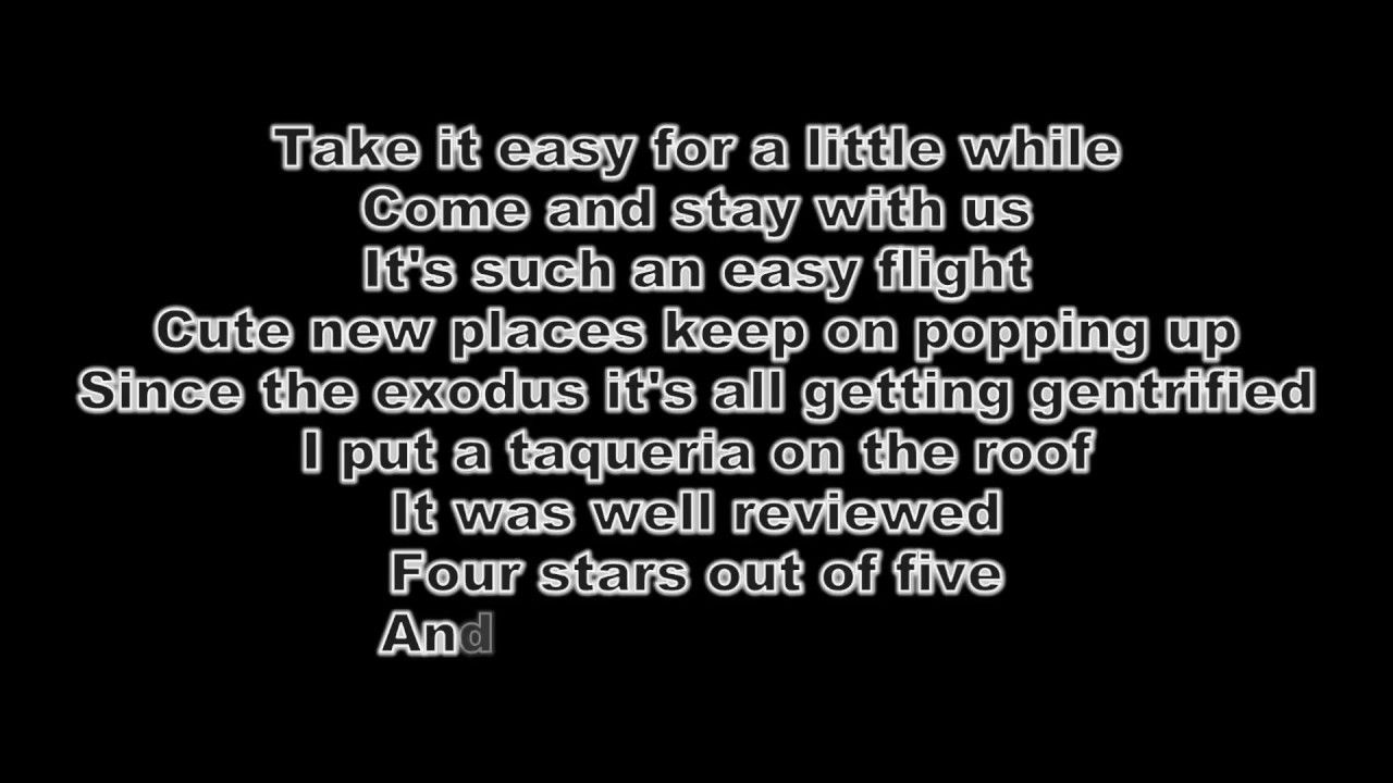 Arctic Monkeys Four Out Of Five Lyrics Arctic Monkeys Lyrics Arctic
