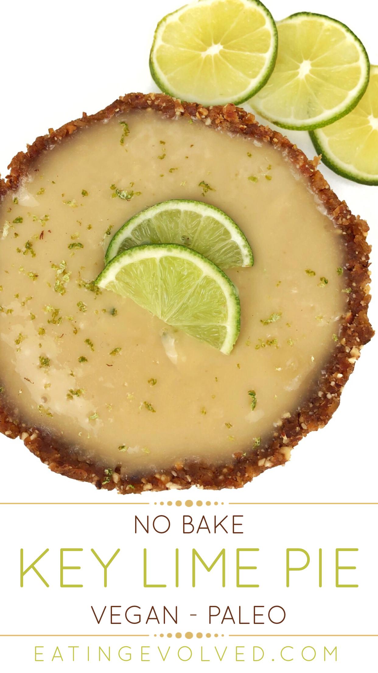 Vegan Paleo No Bake Key Lime Pie Recipe Vegan Key Lime Pie Paleo Key Lime Pie Key Lime Pie