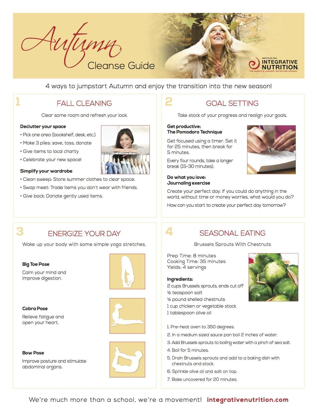 Jumpstart your fall with integrative nutritions fall