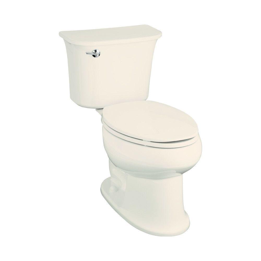 Stinson 1.6 GPF Elongated Luxury Height 2 Piece Toilet