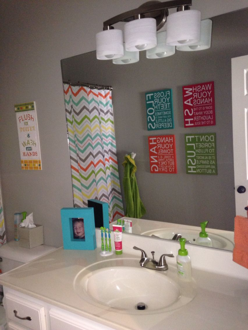 Gender neutral bathroom  Kids bathroom themes, Girl bathrooms