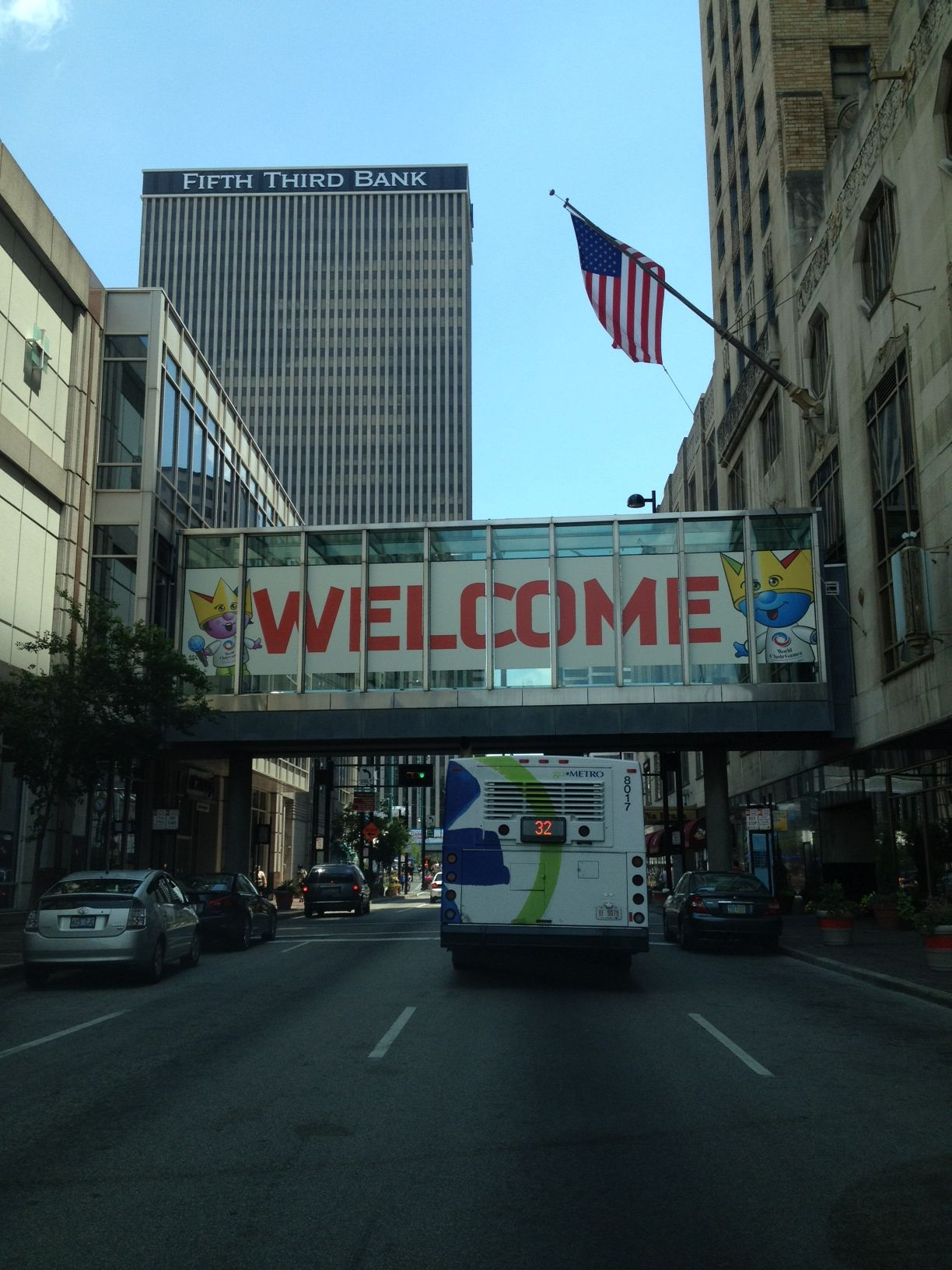 Hello, World. Welcome to Cincinnati for the @2012 World Choir Games!