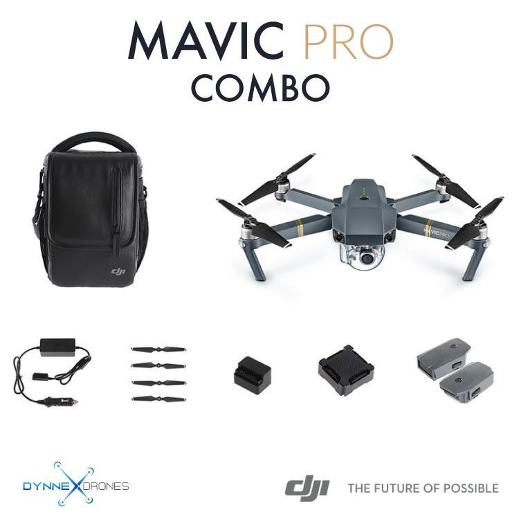 DJI Mavic Pro Fly More Combo Rc DroneCamera