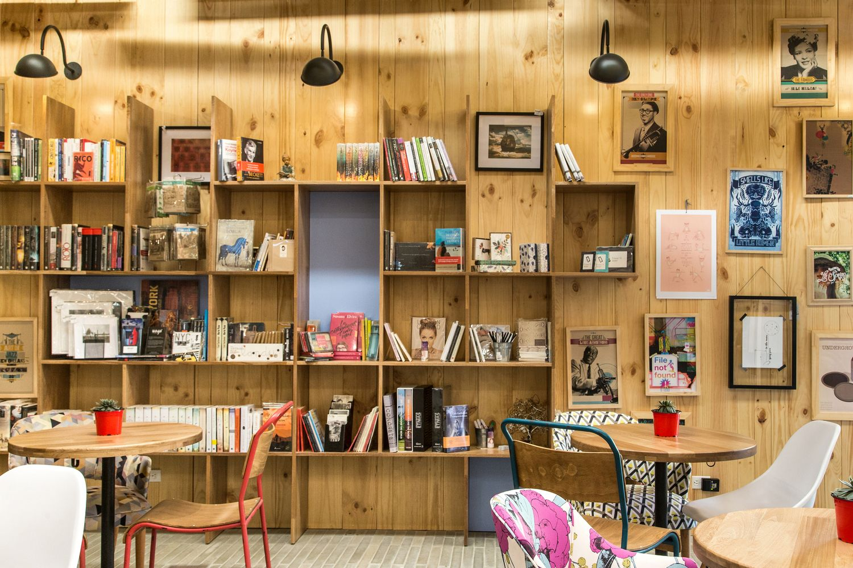 hestia diseo 9 libreria caf plasma nodo bookstore pinterest