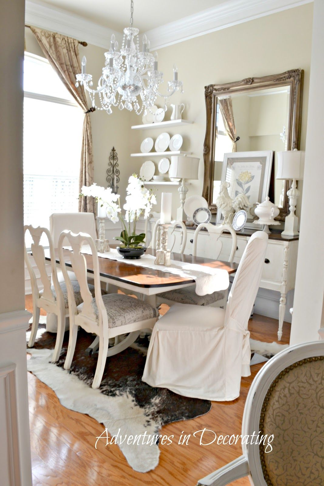 Pin By Jalene Salazar On Dining Room Mirror Dining Room Dining Room Table Decor Large Dining Room
