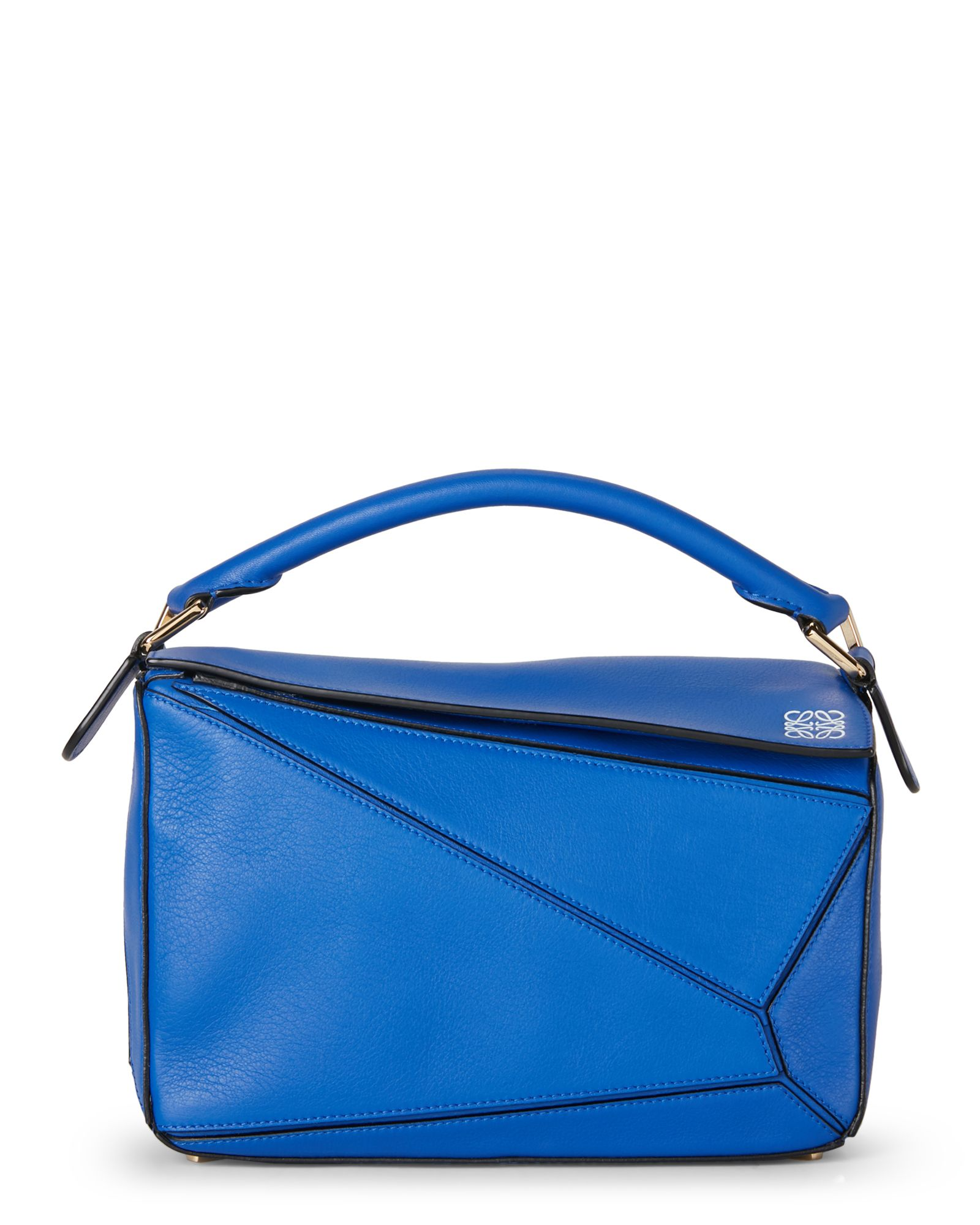 Loewe Electric Blue Puzzle Small Bag