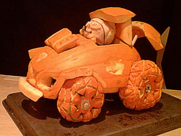 Halloween Decorated Pumpkin carved, car Pumpkin Ideas Pinterest - halloween decorated cars