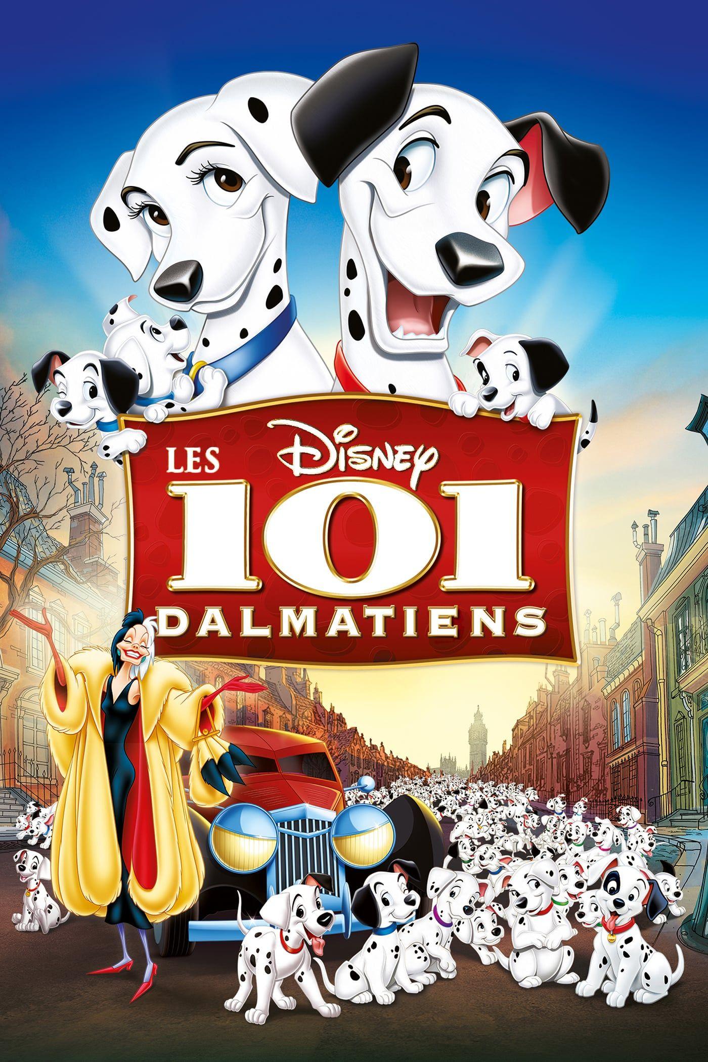 Voir Les 101 Dalmatiens 1961 En Streaming Vf Hd Disney Animated Classics Disney Movie Posters Disney Posters
