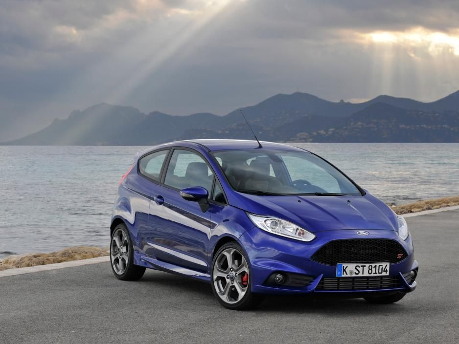The only Liquid Blue Ford Fiesta ST could be yours - Autoblog