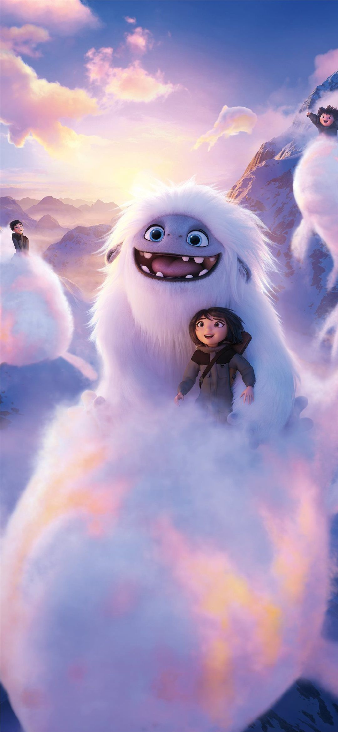 Iphone 11 Wallpaper Abominable Movie 8k Iphone 11 Wallpaper Abominable 2019movies Animatedmovies In 2020 Cartoon Wallpaper Hd Cartoon Wallpaper Cute Disney Drawings