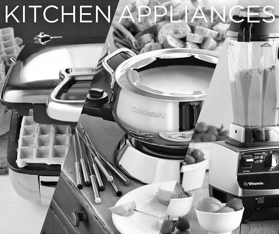 A Checklist: Kitchen Gadgets & Appliances For Your Wedding