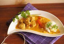 Poulet au curry et aux lentilles Weight Watchers