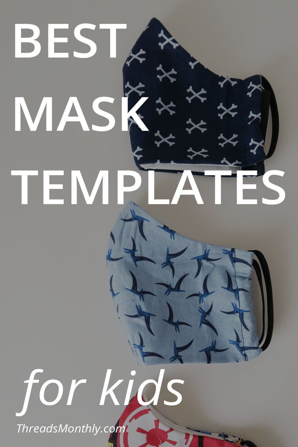 Best Face Mask Templates for Children | Free Printable Patterns & Measurements for Kids & Teens