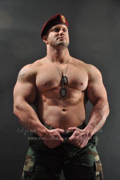 Hot military stud