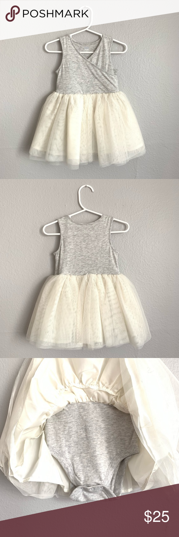 Old Navy Baby Girl Dress In Soft Tulle Tutu NWT Baby