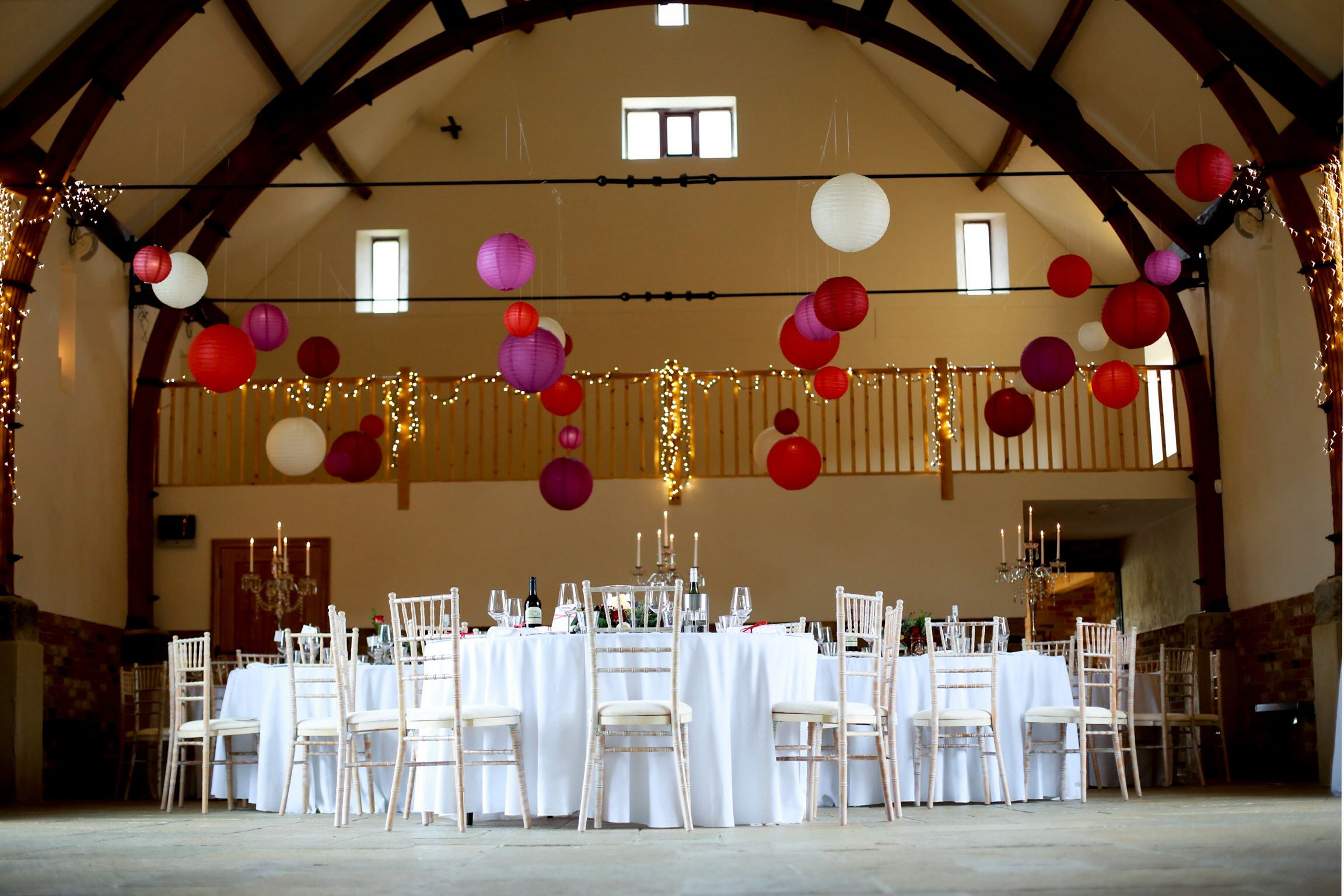 Lanterns Can Be Used In A Variety Of Ways And Give Definition And Colour To  Any Type Of Venue.