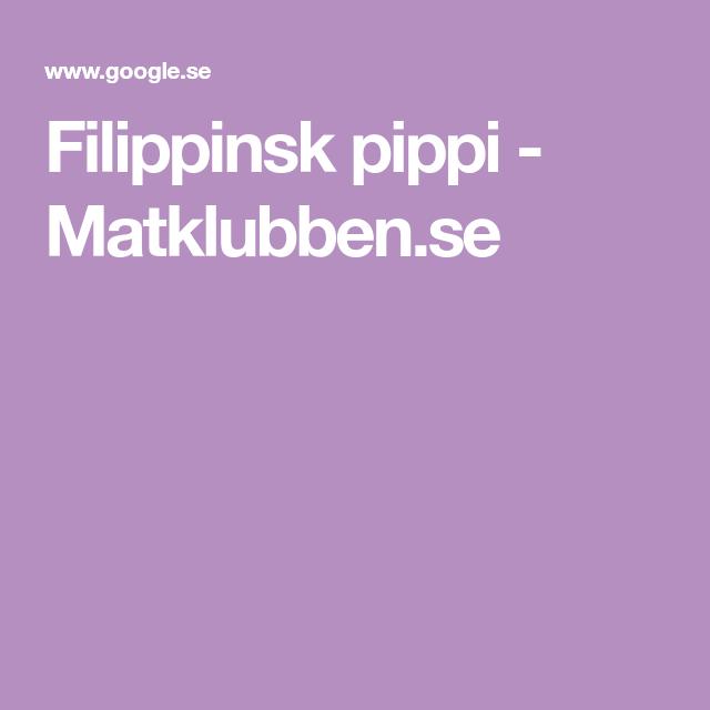 Filipinsk Pippi