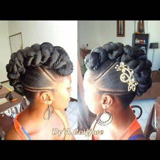 Dyacoiffure Dy A Coiffure On Instagram Cute Hair Styles