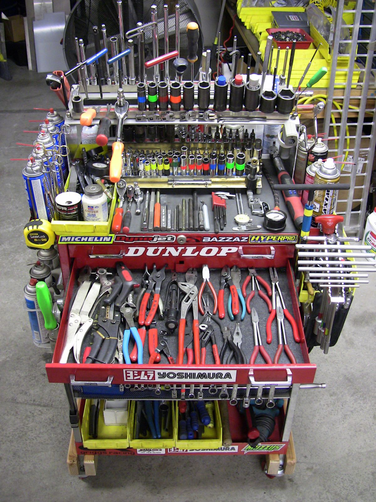 Super Tuned Tool Cart Pics Motorcycle Purposed