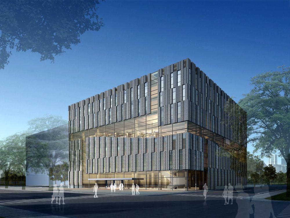 Tsinghua Law Library Building Proposal Kokaistudios