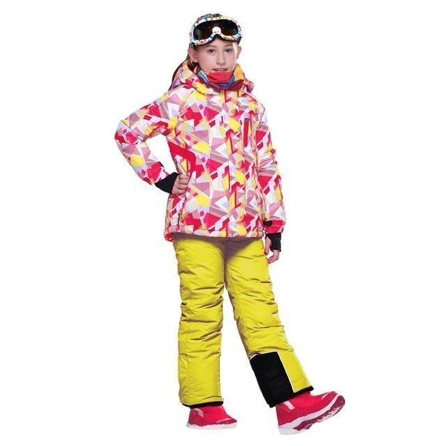 20d28eba1 DETECTOR Windproof Hooded Boys Snowboard Suit - Kid's | Kids Snow ...