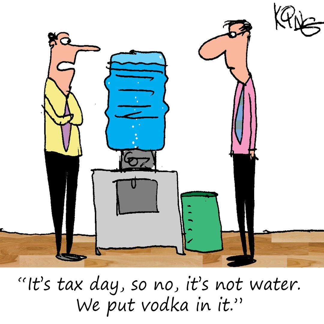 It's Tax Day, how are you feeling?   King cartoon, Cartoon ...