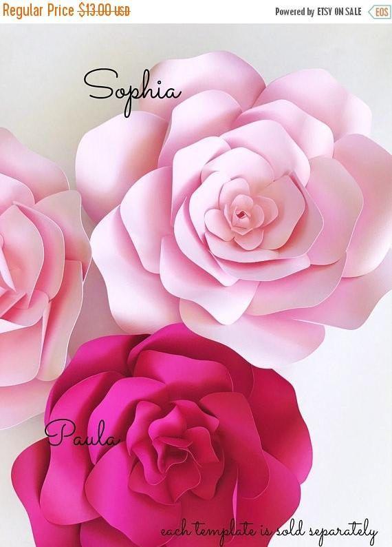 On sale paper flower template paper flower wall diy paper 10 on sale paper flower template paper flower wall diy paper 10 mightylinksfo