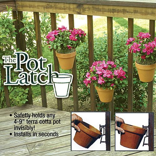 THE POT LATCH For the Home Pinterest Garden, Flower pots and