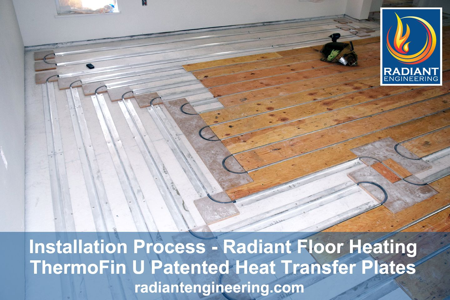 Thermofin U Is Installed On Top Of The Sub Floor Or In Walls Or
