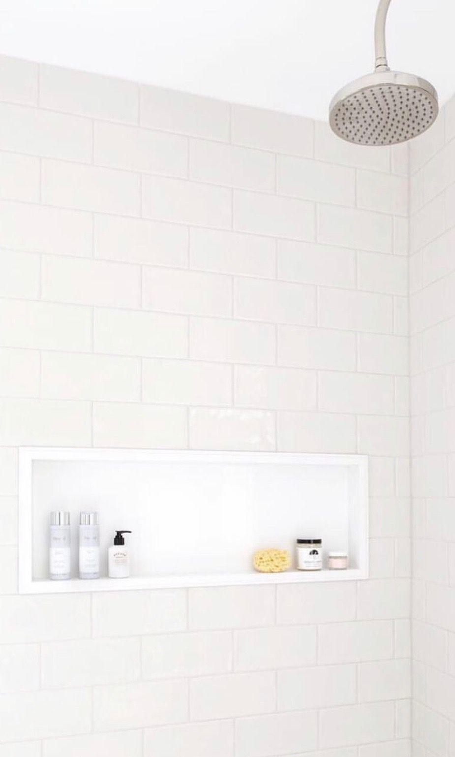 The Whole Shower Bathroom Styling Minimalist Skincare Organic Body Care