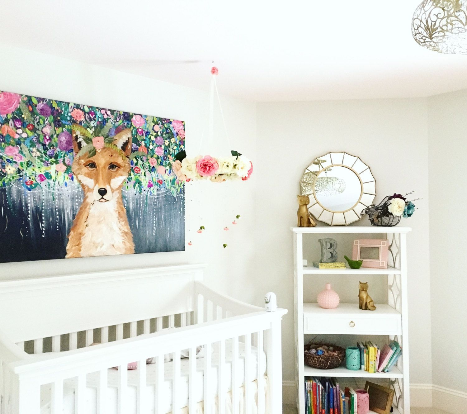 White Neutral Nursery Goals