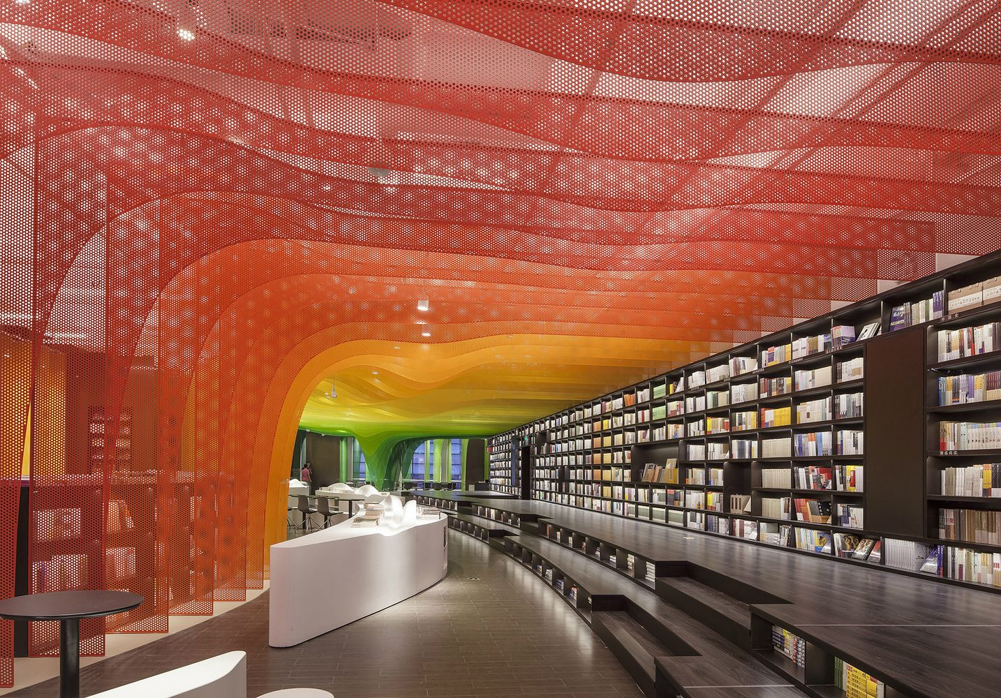 Metal Rainbow Bookstore In Suzhou Wutopia Lab 046 Architecture