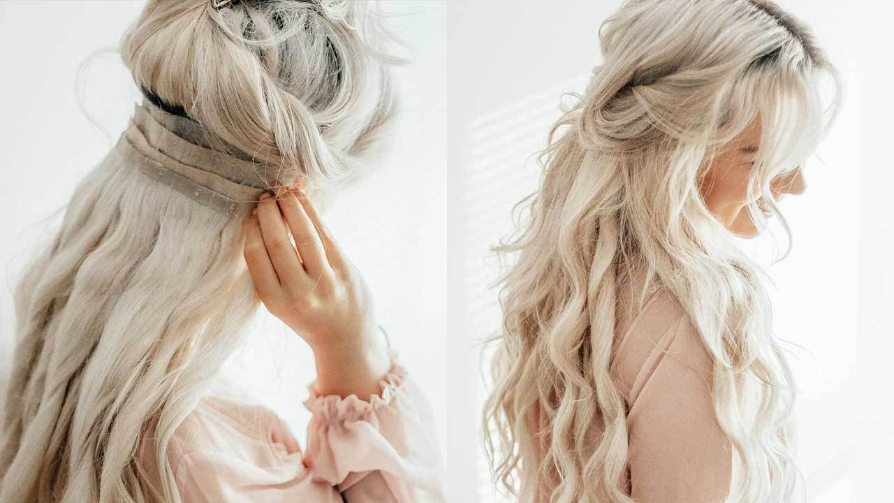 Use Hair Extensions Like A Pro With These Tricks Irresistible Me Hair Extensions Hair Extensions For Short Hair Hair Extensions Tutorial