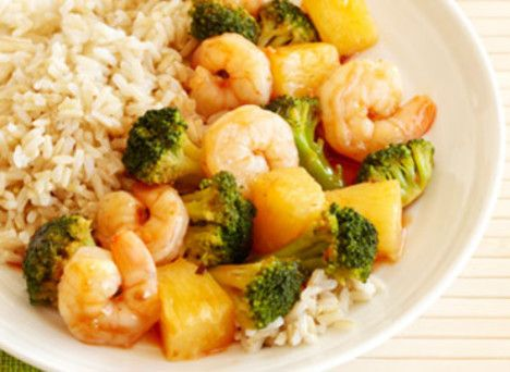 Shrimp Pineapple Stir-Fry http://wm13.walmart.com/Food-Entertaining/Recipes/22267