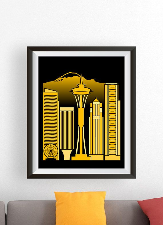 Exelent Wall Art Seattle Mold - Wall Art Design - leftofcentrist.com